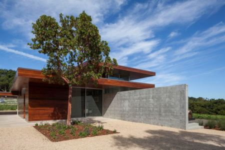 façade jardin - Vidalakis-Residence par Swatt Miers Architects - Californie, USA