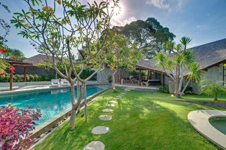 façade jardin - Villas-Spa par Layar Designer - Bali, Indonesie