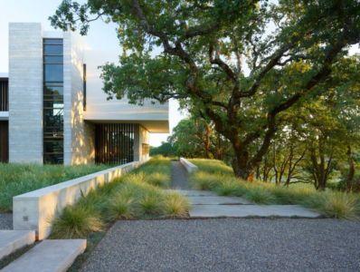 façade jardin - Vineyards-Residence par Swatt Miers Architects - Californie, USA