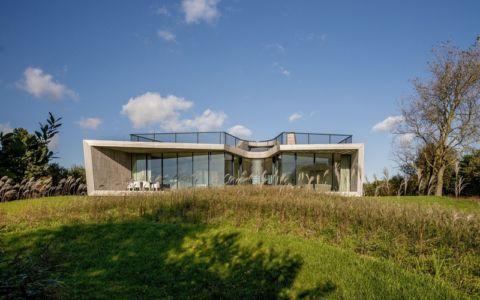 façade jardin - W.I.N.D House par UNStudio - Pays-Bas