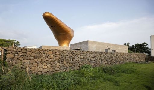 façade jardin - Wind-House par Moonbalsso - Jesu Island, Corée du Sud