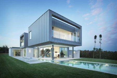 façade jardin - Z-Balca-House par Lagula Arquitectes - Espagne