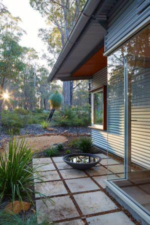 façade jardin arrière - Bush-House par Archterra Architects - Margaret River, Australie