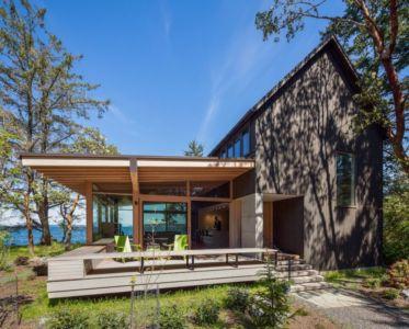 façade jardin - bunny-lane par Heliotrope-Architects - Washington, USA