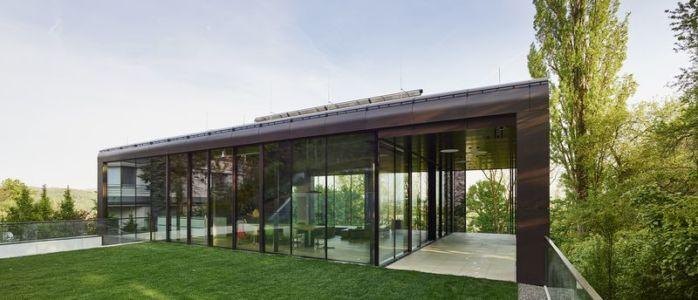 façade jardin & entrée - House-GT par Archinauten - Linz, Autriche