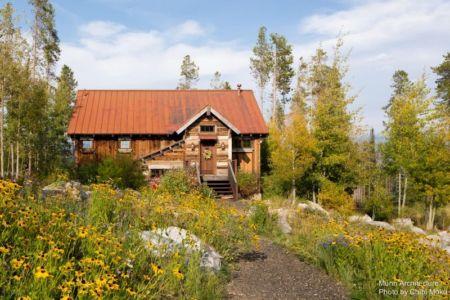 façade jardin & entrée arrière - Camp 88 par Munn Architecture - Colorado, USA