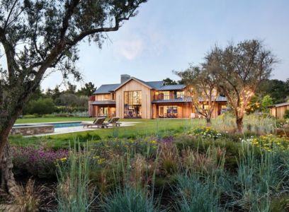 façade jardin fleurs - Triple-L-House par SDG Architecture - San Francisco, USA