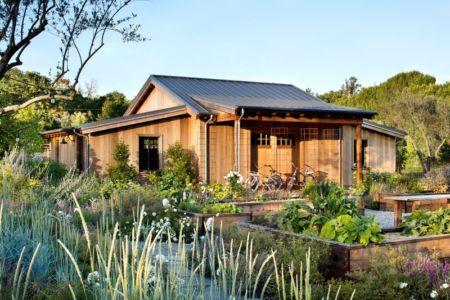 façade jardin maison annexe - Triple-L-House par SDG Architecture - San Francisco, USA