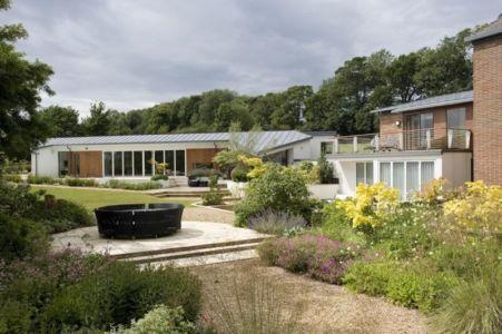 façade jardin principal - Lofties par Rayner Davies Architects - Lindrick Common, Angleterre