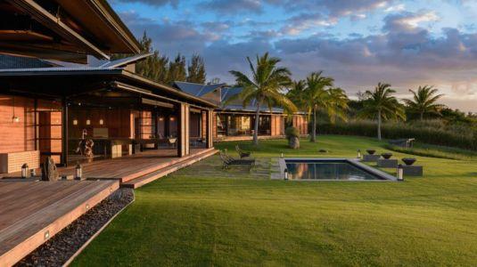 façade jardin & terrasse - Kapalua-Home par Olson Kundig Kaprzycki Designs - Hawaï, USA
