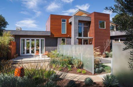 façade jardin & terrasse - Los-Altos-House Dotter Solfjeld Architecture - Los Atlos, USA