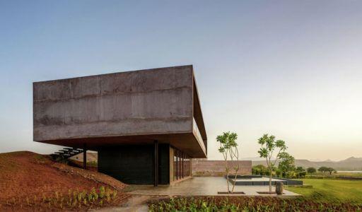 façade jardin & terrasse - Panorama House par Ajay Sonar - Maharashtra, Inde