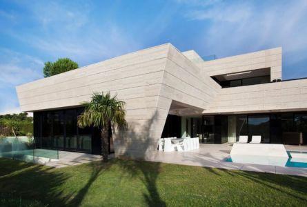 façade jardin & terrasse - SV-House par A-Cero - Seville, Espagne