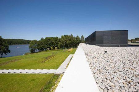 façade jardin & vue panoramique lac - Nemo-house par Mobius Architects - lac Mazurie, Pologne