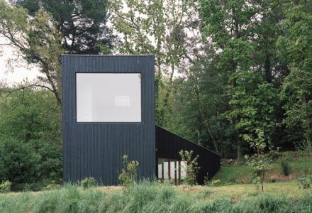 façade mer - maison bois secondaire par RAUM - France - Photos - Audrey Cerdan