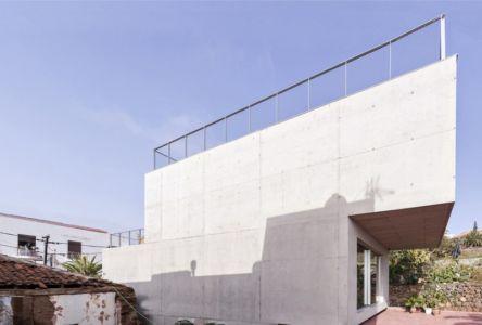 porte à faux sur terrasse - g-house par Esau Acosta - El Sauzal, Espagne