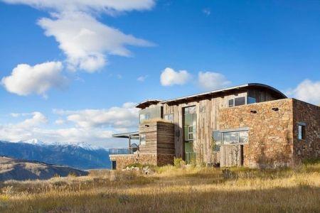 façade ouest - Contemporary Western par Hoyt Architects & CTA Group - Usa