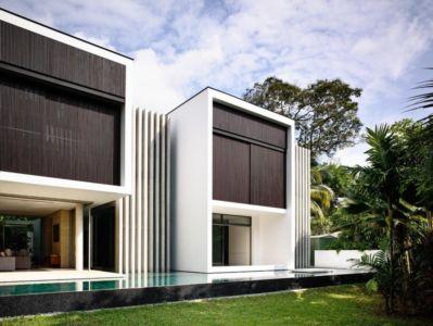 façade piscine - 59BTP House par ONG&ONG - Singapour