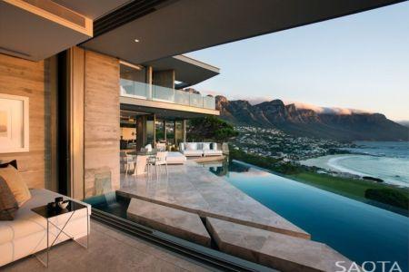 façade piscine - Clifton 2A par Saota - Le Cap, Afrique du Sud