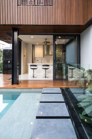 façade piscine - Joly House par StuDO Architectes - Bangkok, Thaïlande