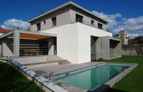 façade piscine - MLEL par Dank Architectes - France