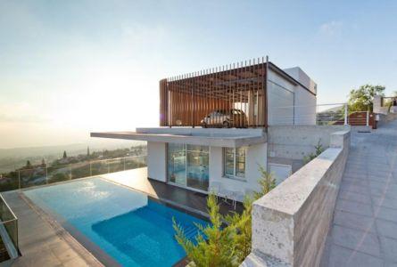 façade piscine - Prodromos and Desi Residence par VARDAstudio - Paphos, Chypre