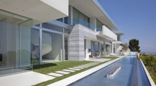 façade piscine - Sarbonne par McClean Design - Los Angeles, Usa