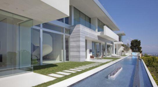façade piscine - Sarbonne par McClean Design - Los Angeles, Usa