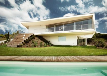 façade piscine - Villa P par Love Architecture - Graz, Autriche