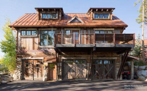 façade principale - Camp 88 par Munn Architecture - Colorado, USA