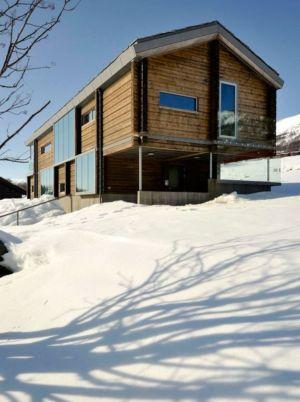 façade principale - Cozy-Wooden-Cottage par JVA - Oppdal, Norvège