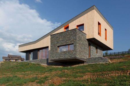 façade principale - Hajdo-House par Blipsz Architecture - Odorheiu Secuiesc, Roumanie