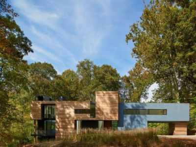 façade principale - Hills-House par Robert M. Gurney - Maryland, USA