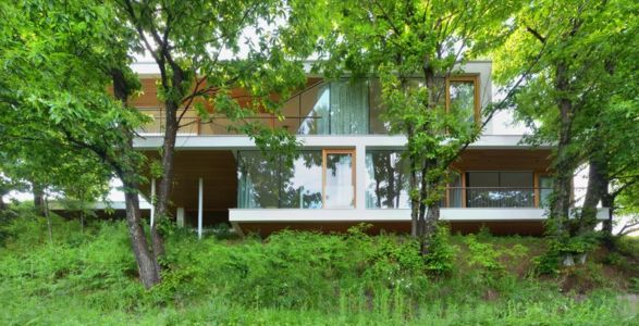 façade principale - Hillside-Home par Multiplan Arhiteki - Ljubljana,Slovénie