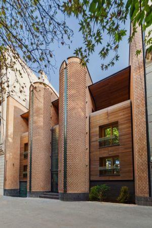 façade principale - Kaveh-House par Pargar Architecture and Design Studio - Téhéran, Iran