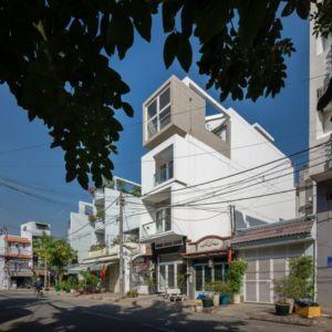 façade principale - NA-House par NatureArch Studio - HO Chi Minh, Vietnam