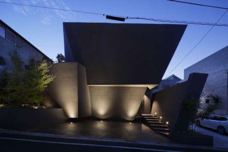façade principale - SRK par Artechnic - Meguro, Japon