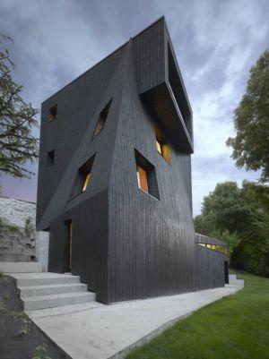 façade principale - Saint-Ange-Residency par Studio Odile Decq - Seyssins, France