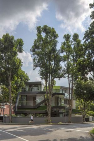 façade principale - Trevose-House par Ad-Lab - Singapour
