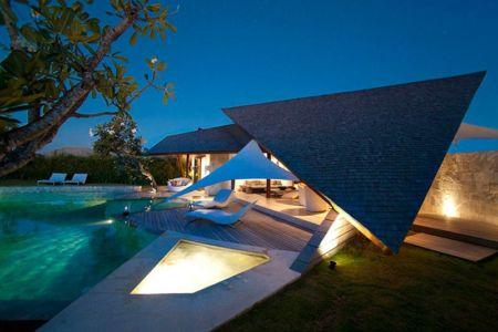 façade principale - Villas-Spa par Layar Designer - Bali, Indonesie