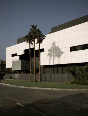 façade principale - desert-rose par Massimiliano Camoletto - Koweit.