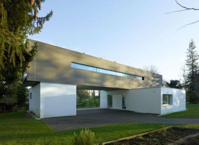 façade principale - during-tannay par Christian Von During Architects - Tannay, Suisse