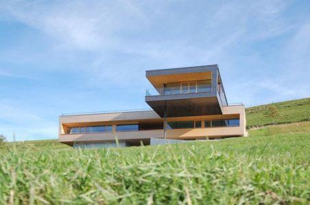 façade principale - house-dornbirn par KM Architektur en Suisse