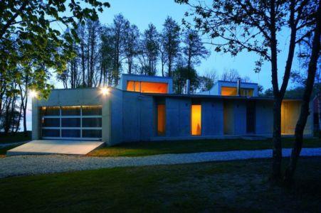 façade principale illuminée - villa-lokaator par kavakava - Paldiski, Estonie