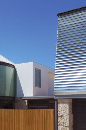 façade principale - maison exclusive par CplusC - Waverley, Australie