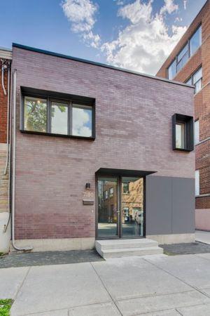façade rue - Résidence Waverly par MU Architecture - Montréal, Canada