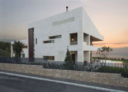 façade rue - S House par Joe Ingea Architects - Liban