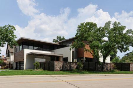 façade rue - Underwood House par StudioMET - Houston, Usa