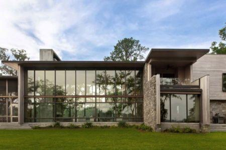 façade sud - SC Modern I par SBCH Architects - Bray's Island, Sheldon, Usa