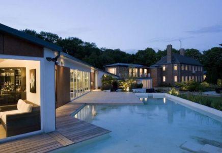 façade tarrasse & piscine - Lofties par Rayner Davies Architects - Lindrick Common, Angleterre